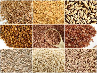 Cereais Integrais e Orgânicos