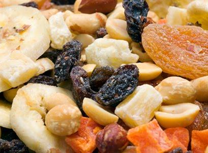 Granolas, Frutas Secas e Desidratadas
